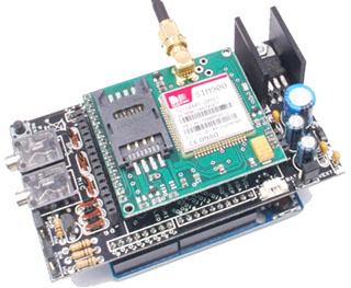 Arduino Sim900 Gsm Shield Direncnette